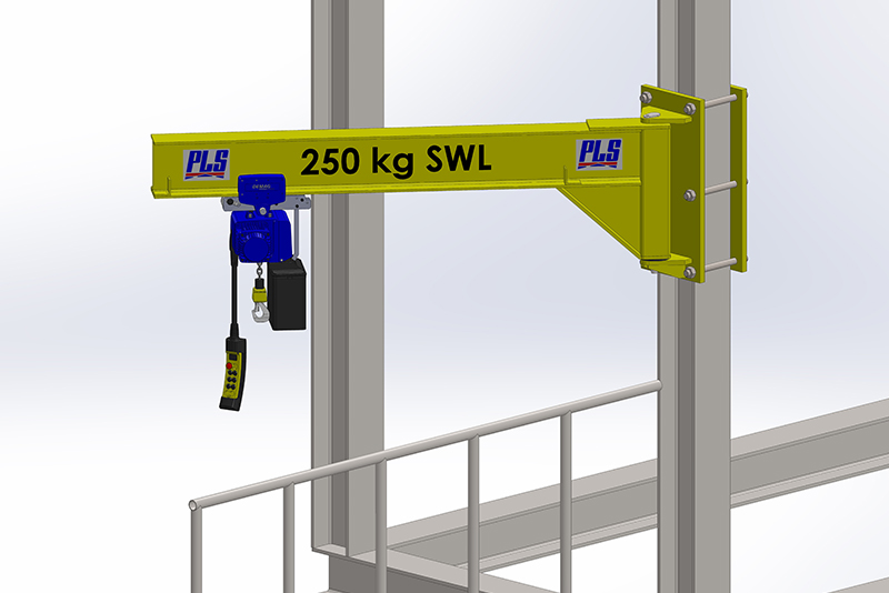 Jib Crane Testing : Professional lifting services ltd pls products